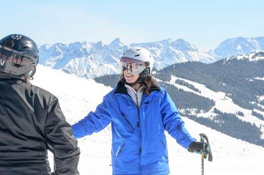 Ski hosting in Saalbach
