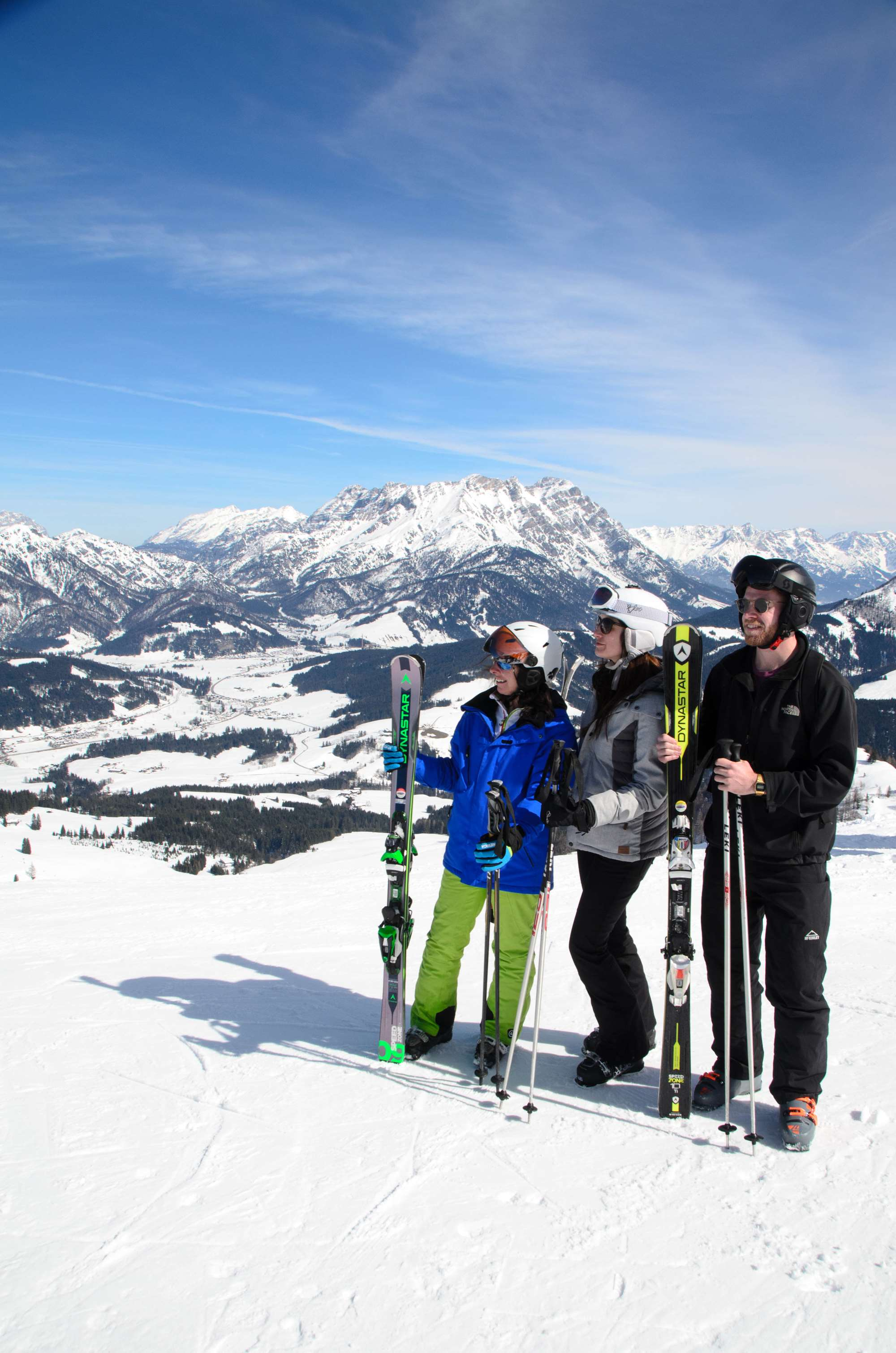 Ski hosting in Saalbach