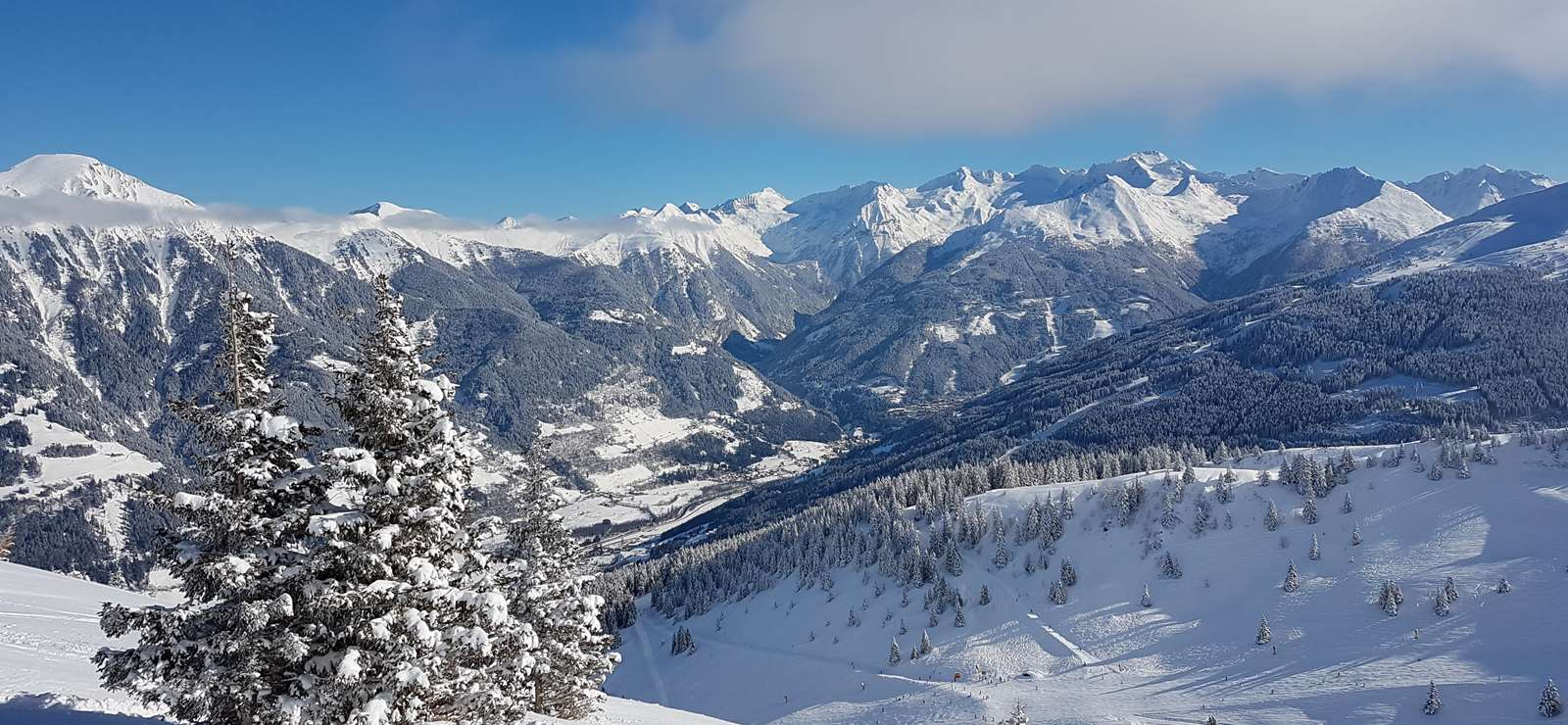 View of the Gastein valley