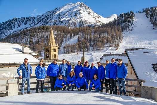 Ski Miquel staff