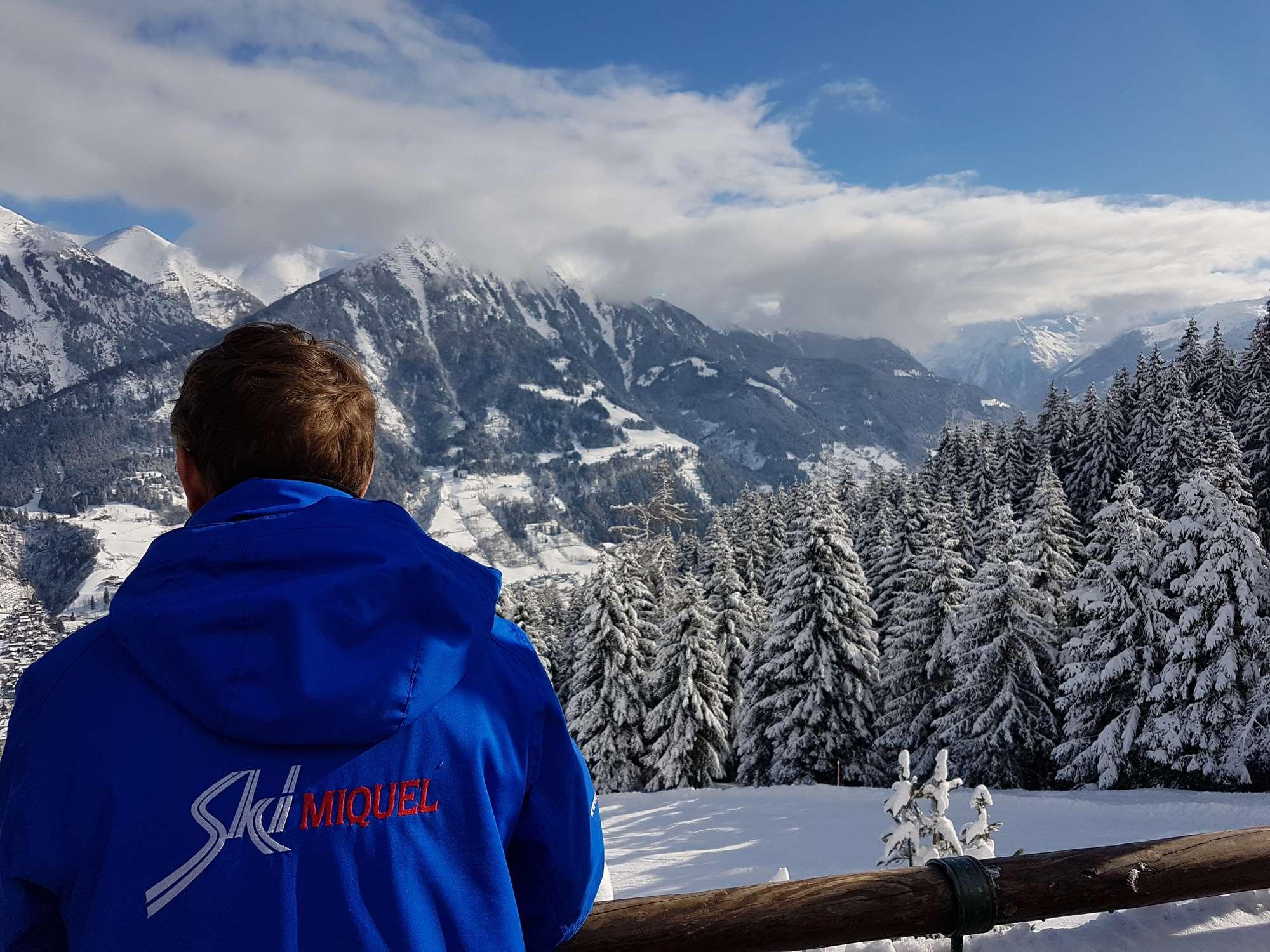 Overlooking the Gastein valley