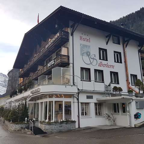 The Hotel Silberhorn in Lauterbrunnen