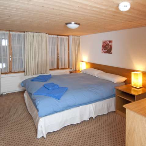 Double bedroom in Chalet Rosa