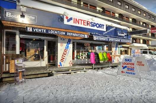 Josephine Pavesi Sport ski hire shop Montgenevre