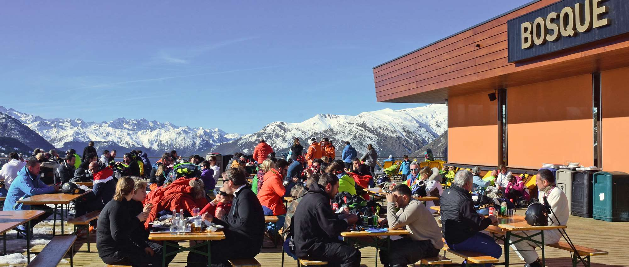 The Bosque restaurant in Baqueira