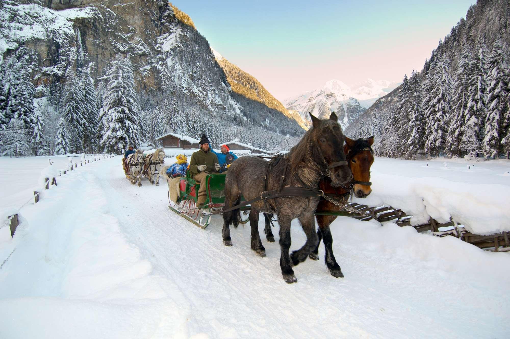 Sleigh ride in Bad Gastein