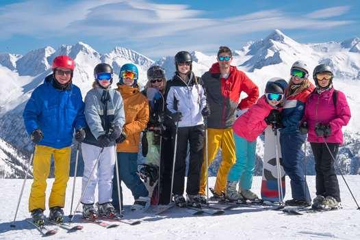 Group shot in Bad Gastein