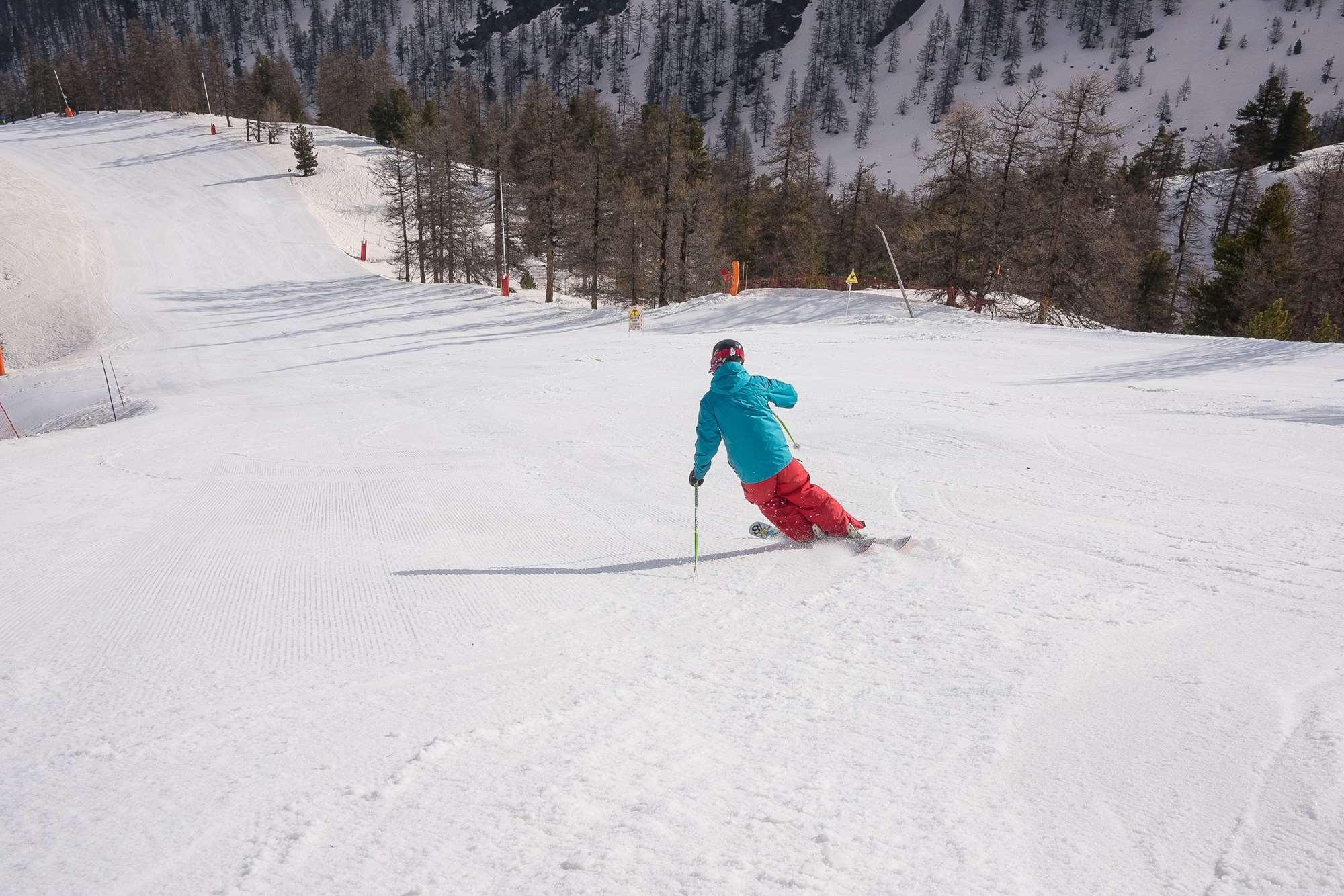 Skiing in Montgenevre
