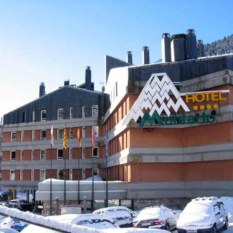 The Hotel Montarto in Baqueira
