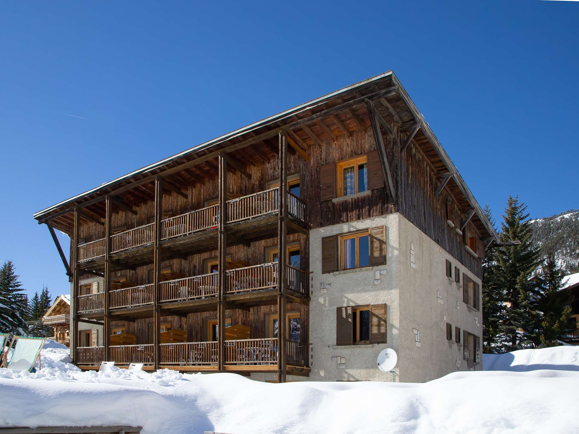 The Chalet-Hotel Lucille in Montgenevre