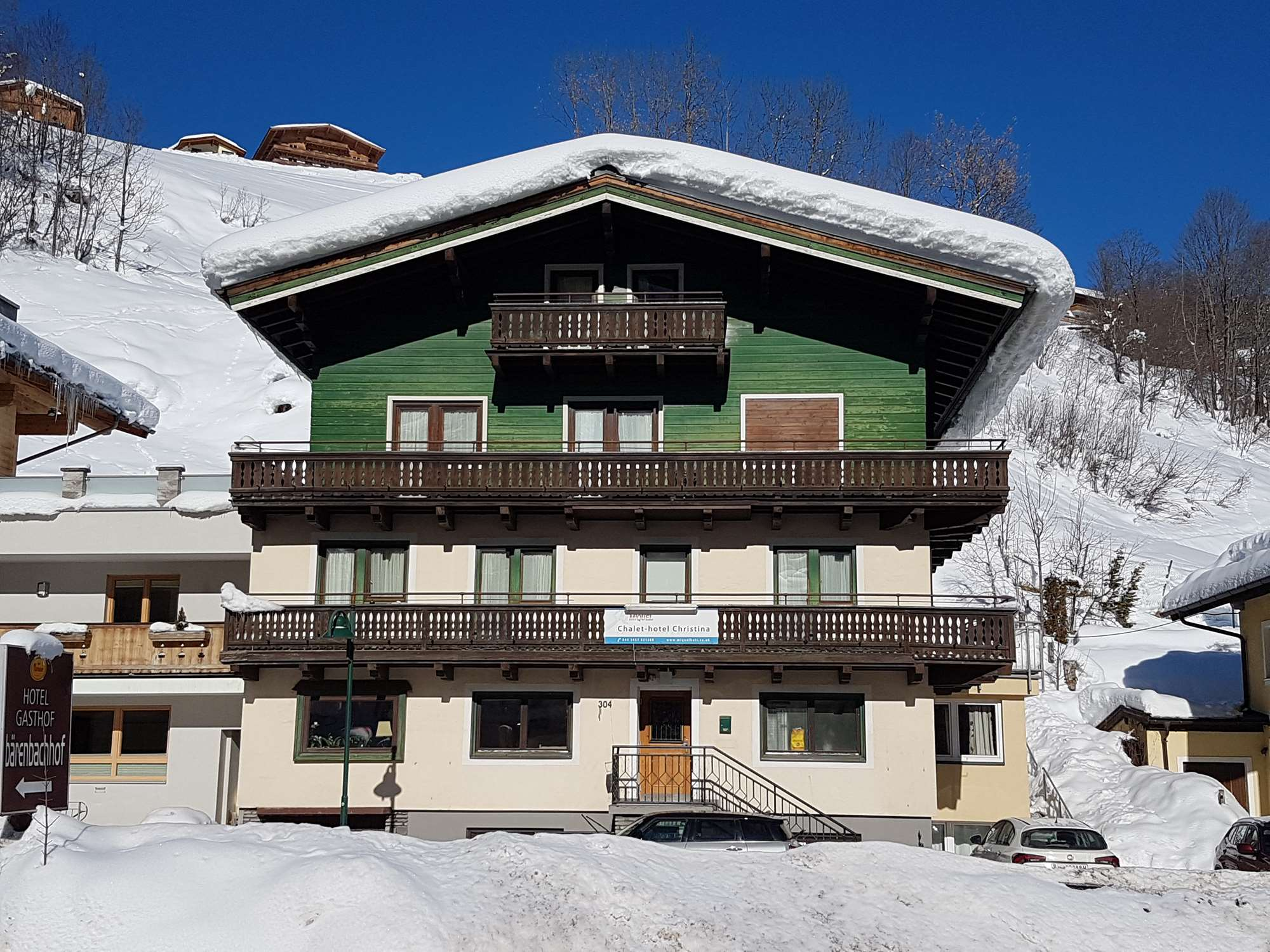 Chalet-Hotel Christina in Saalbach