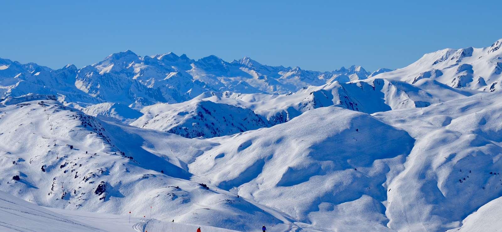 Skiing in Beret