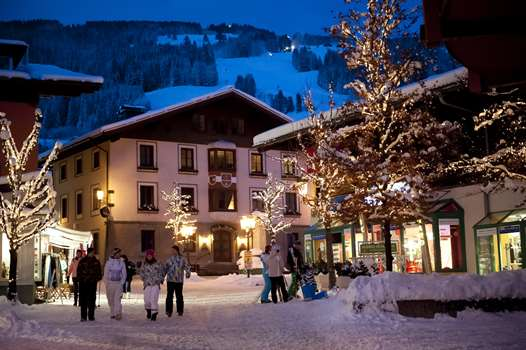 Saalbach in the evening