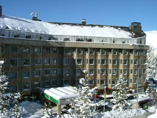 The Hotel Tuc Blanc in Baqueira