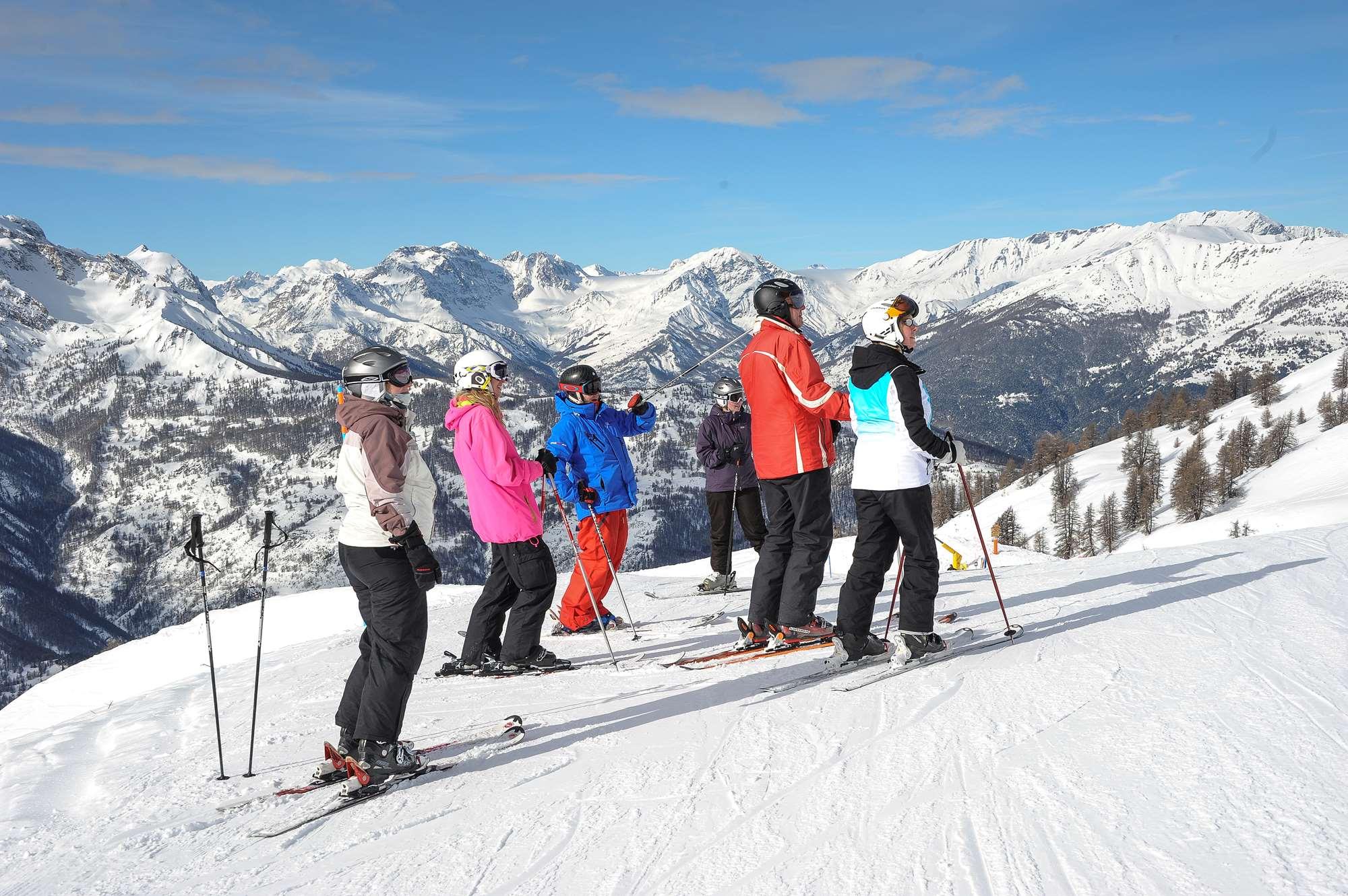 Ski hosting in Montgenevre