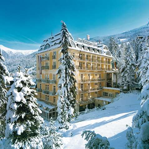 The Hotel Salzburger Hof in Bad Gastein