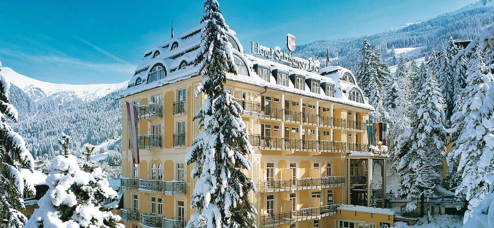 The Hotel Salzburger Hof in Bad Gastein