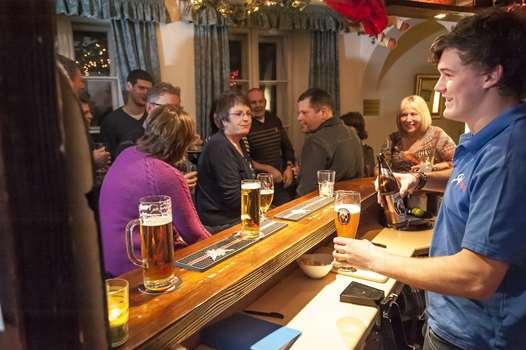 The bar in the Tannenburg