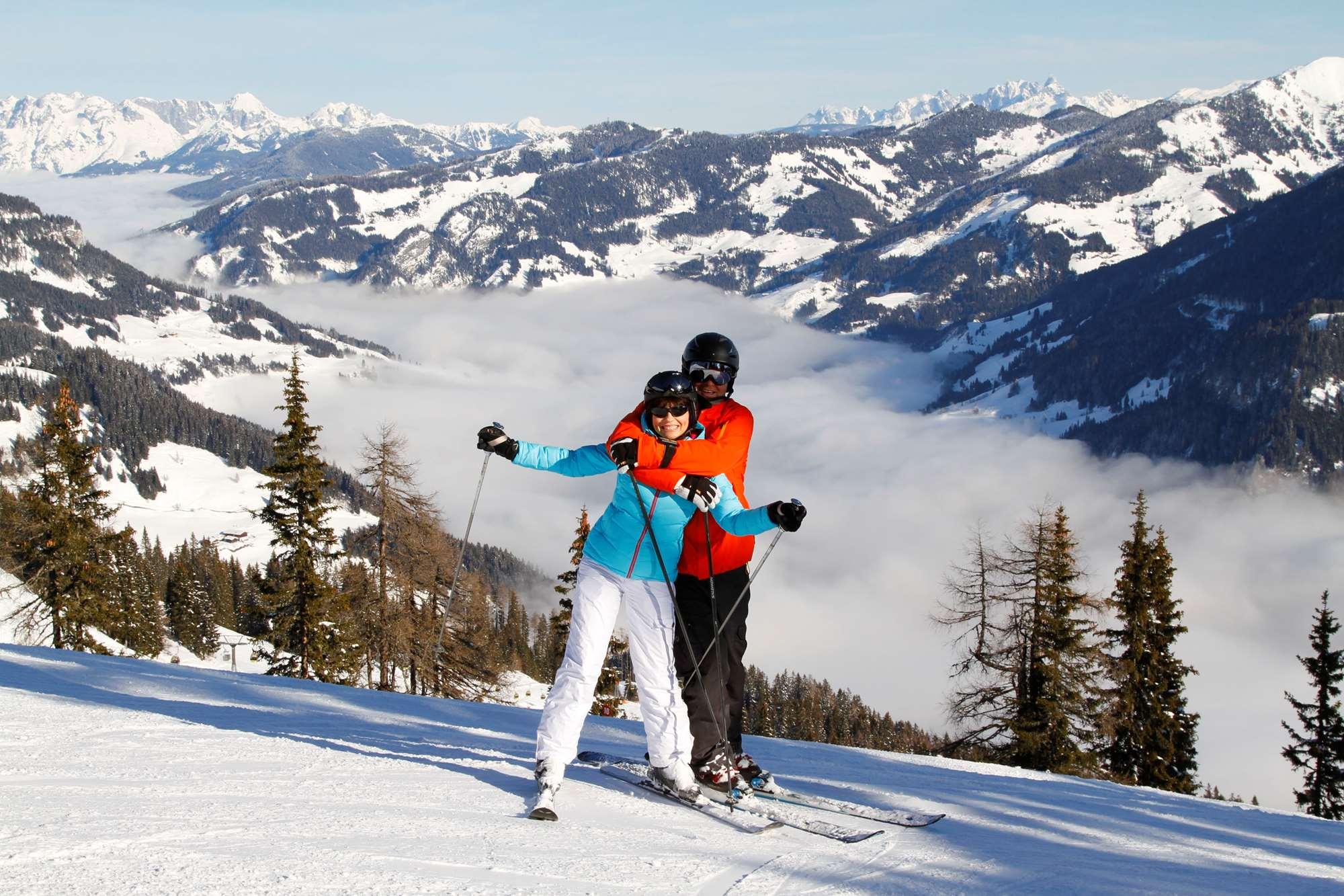Skiing in Bad Gastein