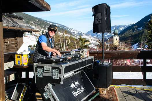 DJ in Saalbach
